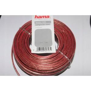 Kabel głośnikowy 2x0,75mm²...